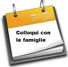 calendario colloqui con le famiglie 2017-2018
