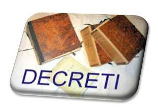 immagine decreti