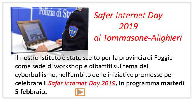 locandina safer day 2019