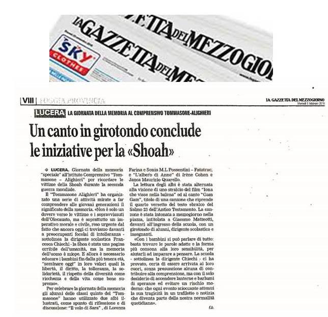 articolo shoah