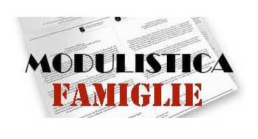 MODULISTICA FAMIGLIE