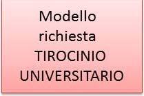 locandina modello tirocinio univ