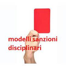modeli sanzioni disciplinari locandina