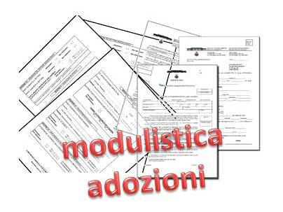 modulistica adozioni
