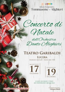 Manifesto Orchestra Dante Alighieri - 2019