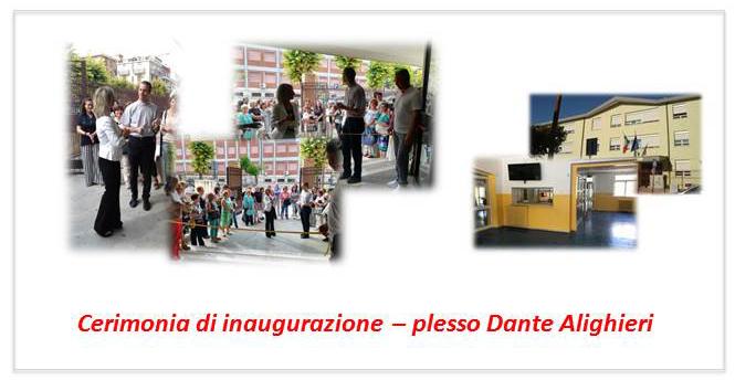 cerimonia inaugurazione scuola dante foto 1