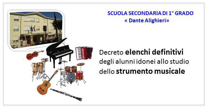 locandina elenchi definitvi strumento musicale