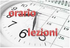 orario lezioni locandina